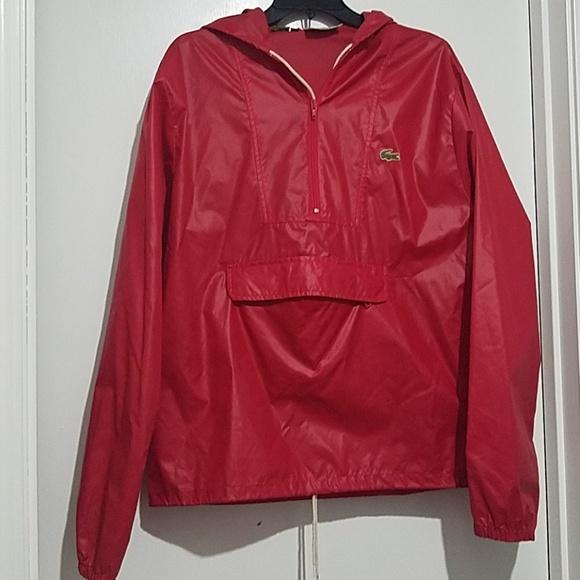 c13f6db08019 Lacoste Other - Lacoste Izod Vintage Rain Jacket Light Weight M